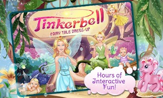 Screenshot of Tinkerbell Dress Up & Story