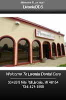 Screenshot of Livonia Dental Care