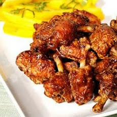 Thai-Style Broiled Chicken Wings with Hot-and-Sour Sauce