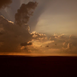 blessings from heaven by Arnab Bhattacharyya - Landscapes Cloud Formations