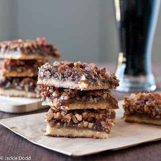 Beer & Bacon Pecan Bars