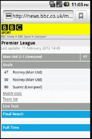 AndroidFooty
