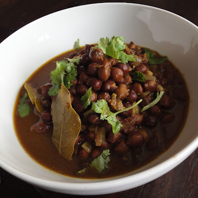 Black Chickpea Stew