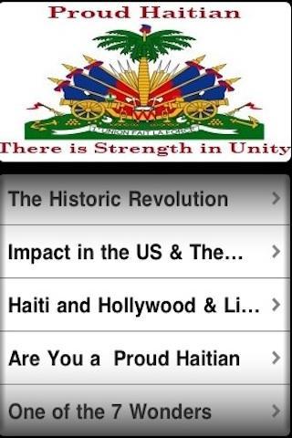 Proud Haitian