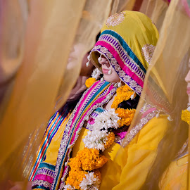 Mayoon Bride by Farrukh Saleem - Wedding Bride ( farrukh saleem, pakistan, wedding, bride, asian )