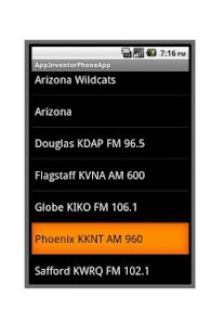 Arizona Basketball Radio - screenshot