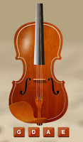 Screenshot of Violin Tuner