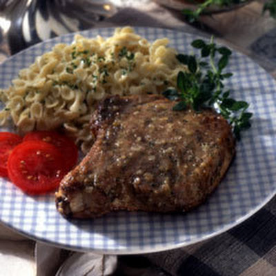 Garlic Pork Chops