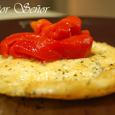 Provolone with Piquillo Peppers