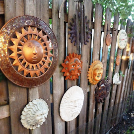 Backyard art. by Gaynel . - Artistic Objects Other Objects