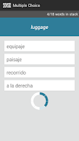 Screenshot of Sensei - Learn Spanish