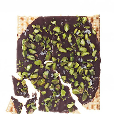 Pistachio, Honey and Sea Salt Matzo