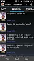 Screenshot of Tributo a Tomas Milian