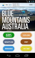 Screenshot of Blue Mountains Australia
