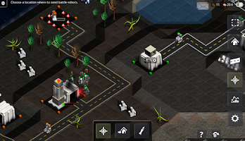 Screenshot of Robotic Planet RTS