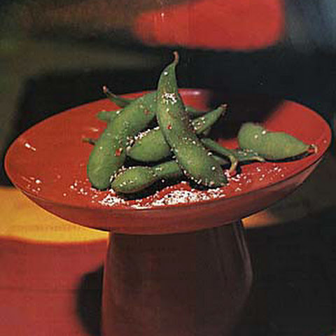 Salt-and-Pepper Edamame (Soybeans in the Pod)