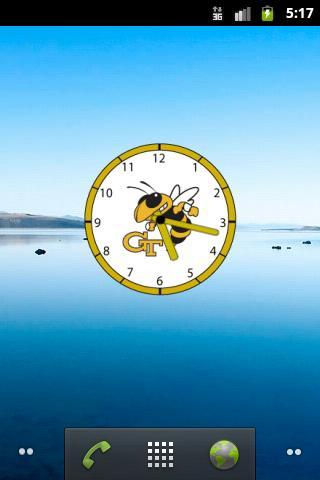 GaTech Clock Widget - Atrix 4G