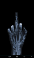 Screenshot of X-Ray Scanner Free Prank