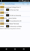 Screenshot of Grand River Transit