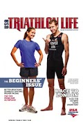 Screenshot of USA Triathlon Magazine