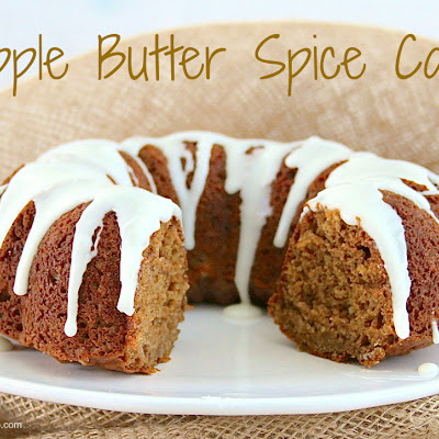 Apple Butter Spice Cake