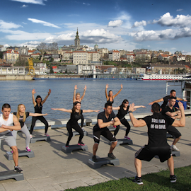 Be Fit by Tijana Lubura - Sports & Fitness Fitness ( sava, belgrade, sport, people, river )
