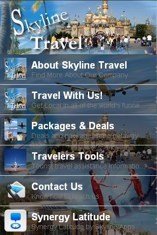 Skyline Travel App