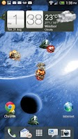 Screenshot of UFO Attack! LWP FREE