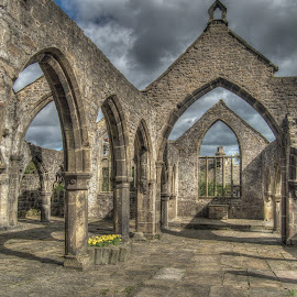 Heptonstall Old Church by Simon Sweetman - Buildings & Architecture Public & Historical ( old, church, ruin, medieval, heptonstall )