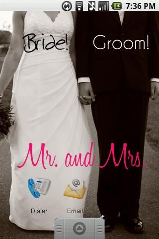 Wedding Engagement Stickers