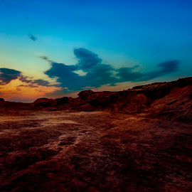 by Elham Sh - Landscapes Deserts