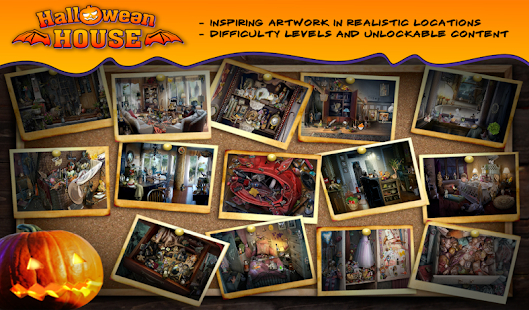 Hidden Object Halloween House - screenshot
