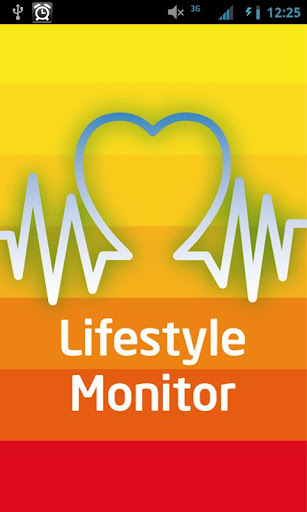 Lifestyle Monitor App
