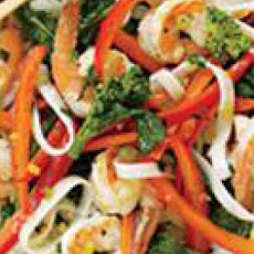 Shrimp & Noodle Stir-Fry