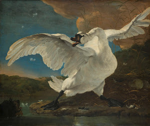 RIJKS: Jan Asselijn: The Threatened Swan 1650