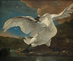 RIJKS: Jan Asselijn: The Threatened Swan 1650