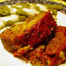 Cheese Stuffed Italian Meatloaf