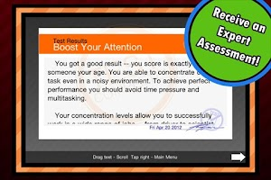 Screenshot of Boost Your Attention