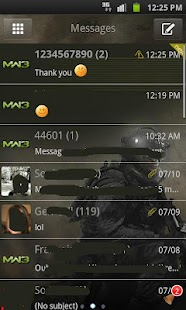 Go sms MW3 - screenshot