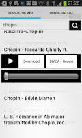 Screenshot of Mp3 Downloader