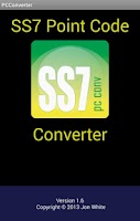 Screenshot of SS7 Point Code Converter