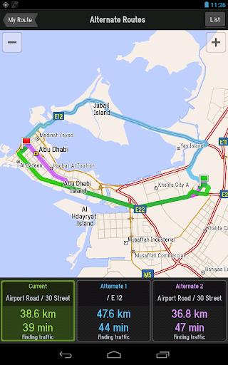 CoPilot Middle East Navigation - screenshot