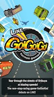 Screenshot of LINE Go!Go!Go!