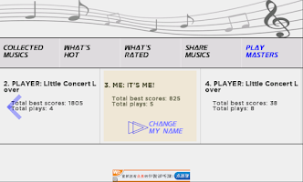 Screenshot of Little Concert BETA