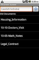 Screenshot of Document Scanner Trial