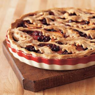 Cranberry-Apple-Orange Tart