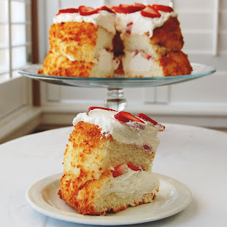 Layered Angel Food Cake