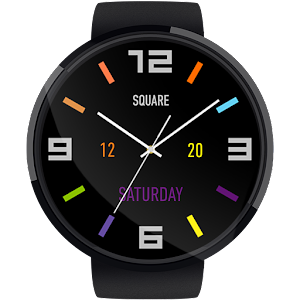 Square HD Watch Face