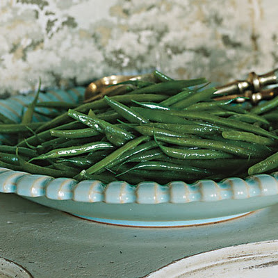 Green Beans with Celery-Salt Butter