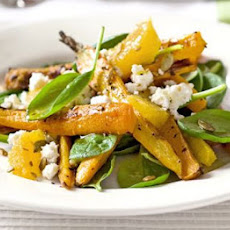 Caraway-roasted Carrot & Feta Salad